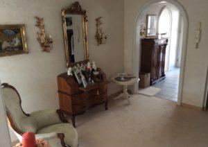 Vorraum zum Wohnzimmer