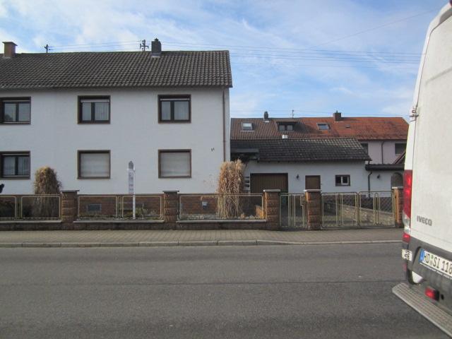 Walldorf Doppelhaushälfte Aus Dem Jahre 1953 Auf Großem Grundstück
